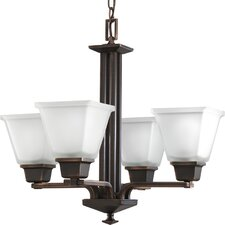 Chickamauga Classic 4 Light Chandelier in Venetian Bronze