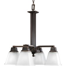 Chickamauga 4 Light Chandelier in Venetian Bronze