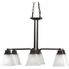 Chickamauga 6 Light Chandelier in Venetian Bronze
