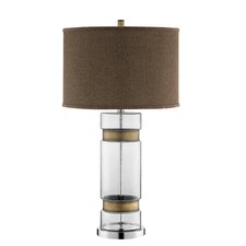 "Regent 31.5"" H Table Lamp with Drum Shade"