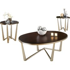 Cindy 3 Piece Coffee Table Set