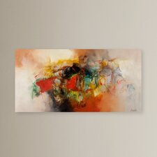 'Abstract' Graphic Art on Canvas
