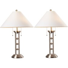 "Agler Beach 28"" Table Lamp (Set of 2)"