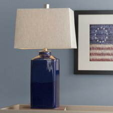 """Rhys 26.5"""" H Table Lamp with Rectangular Shade"""