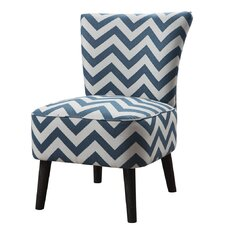 Fort Myers Wave Accent Slipper Chair
