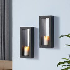 Metal Sconce (Set of 2)