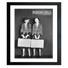 Women At Work Framed Photographic Print