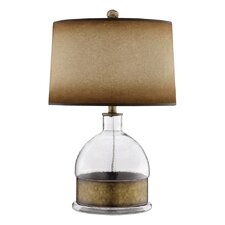 """Dalton 24.75"""" H Table Lamp with Drum Shade"""
