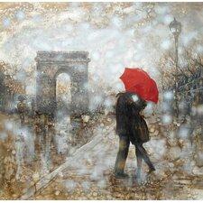 Rain Embrace Original Painting