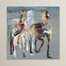 Blatno Wild Horses Wall Decor