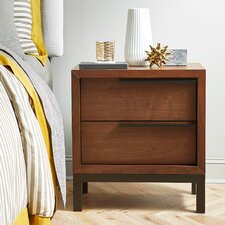 Edensor 2 Drawer Nightstand