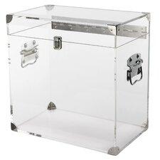 Clear Plastic Keepsake Box
