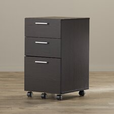 Magdalena 3 Drawer Mobile Filing Cabinet