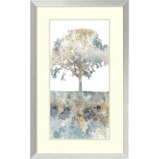 Water Tree I Framed Graphic Art