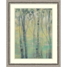 The Light in the Trees I Framed Graphic Art