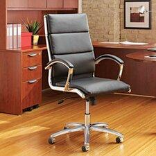 Virginia Mid-Back Leather Executive Chair