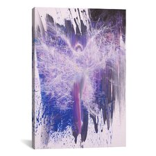 Flying Painting Print on Wrapped Canvas