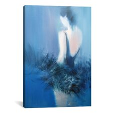 Night Dance Painting Print on Wrapped Canvas