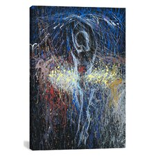 Eclipse of the Sun Graphic Art on Wrapped Canvas