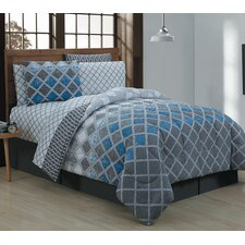 Haberfield 8 Piece Bed-In-a-Bag Set