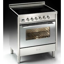 3 Cu. Ft. Electric Convection Range in Stainless Steel