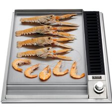 """15"""" Griddle Gas Cooktop"""