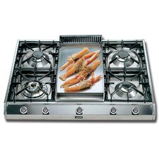 """36"""" Gas Cooktop with 4 Burners"""