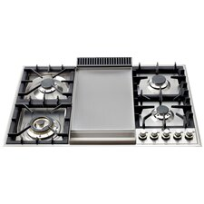 "36"" Gas Cooktop with 4 Burners"