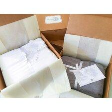 Certified Organic 300 Thread Count 3 Piece Cotton Duvet Cover Set