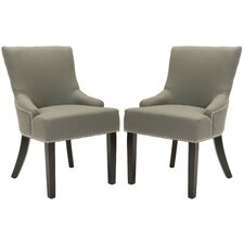 Plutarch Solid Birch Upholstered Dining Chair (Set of 2)