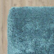 Handgetufteter Teppich Mu in Blau