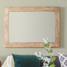 Magna Rustic Timber Mirror