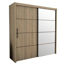 Waldrup 2 Door Wardrobe