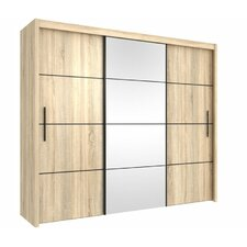 Waldrup 3 Door Wardrobe
