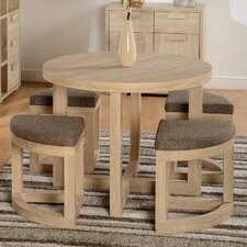 Wansley Dining Table and 4 Chairs