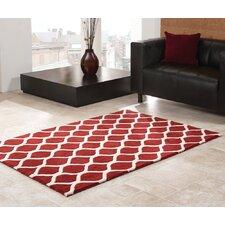 Teppich Sommerfield in Rot
