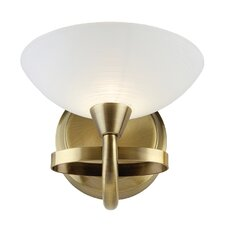 Prattsburgh 1 Light Semi-Flush Wall Light