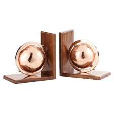 Ischua Globe Bookend (Set of 2)