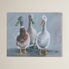 Lyndon The Three Amigos Art Print on Canvas