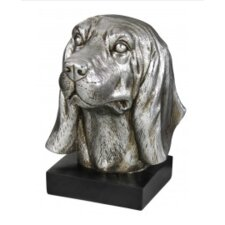 Golden Oaks Silver Decorative Dog Bookend