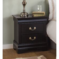 Partridge Hill 2 Drawer Bedside Table
