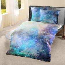 Bettwäsche-Set Renforcé Galaxy aus 100% Baumwolle