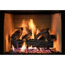 Four Seasons Vented Log Set with Remote