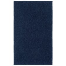 Ourspace Bright Midnight Navy Blue Area Rug
