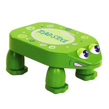 One Small Step 1-Step Wood Toad Step Stool