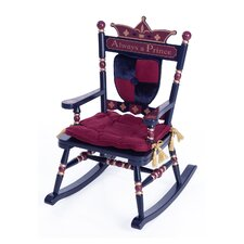 Rock A Buddies Royal Prince Kids Rocking Chair