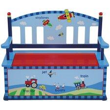 Gettin' Around Kids Bench with Storage Compartment