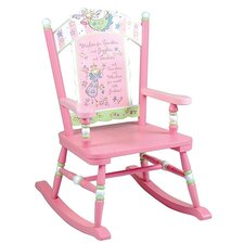 Fairy Wishes Kids Rocking Chair
