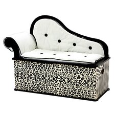 Wild Side Kids Chaise Lounge with Storage Compartment