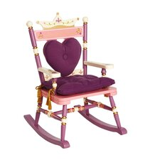 Princess Rock A Buddies Royal Kids Rocking Chair